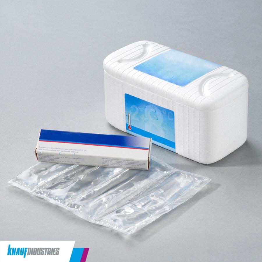 Transporte de medicamentos y embalaje