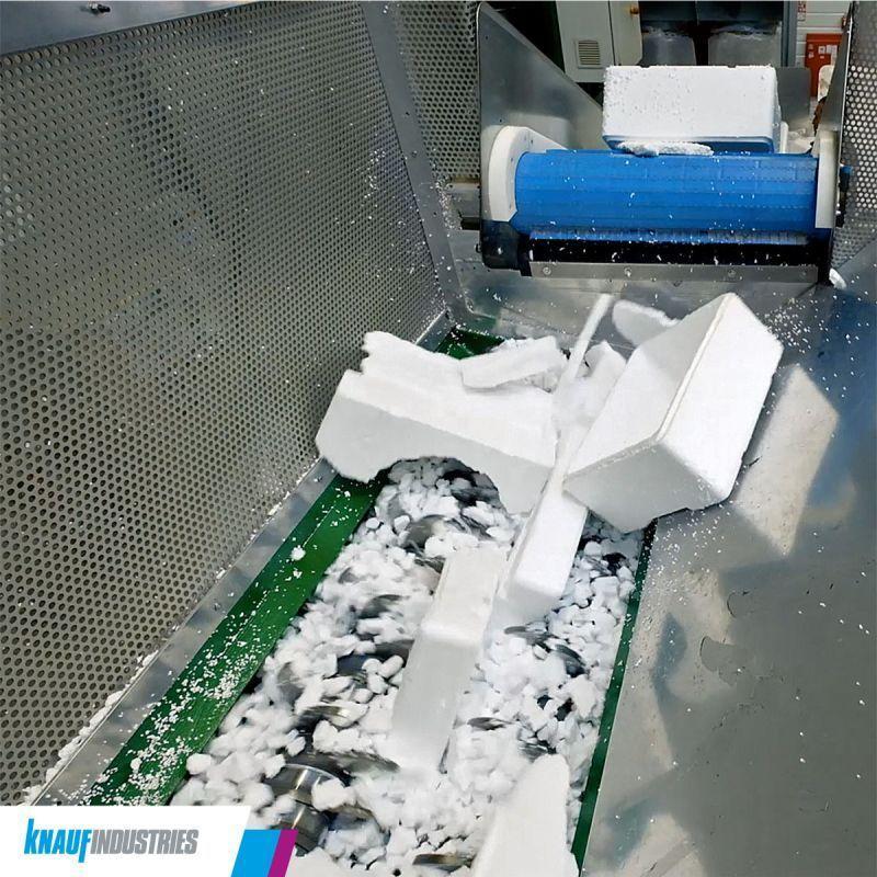 poliestireno reciclado: proceso
