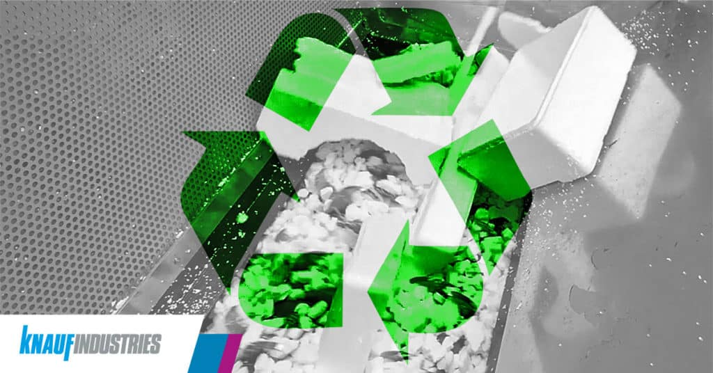 Poliestireno reciclado: métodos y sostenibilidad
