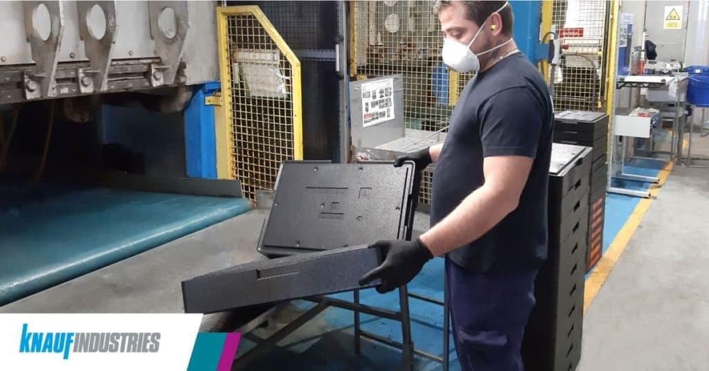 Knauf Industries fabrica poliestireno expandido